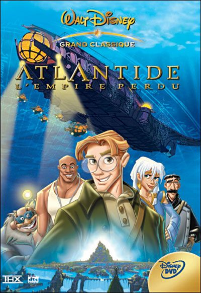 Couvertures, images et illustrations de Atlantide l'empire perdu de Walt Disney