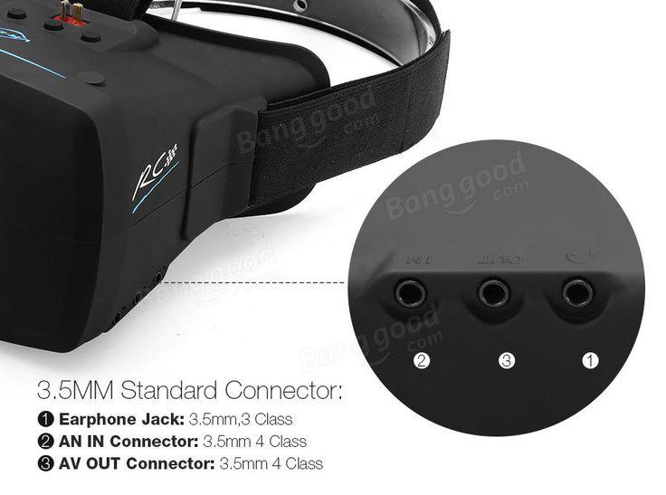 Eachine VR009 5.8G 40CH FPV Goggles 800x480 5 Inch Video Glasses Headset