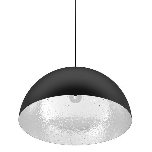 1 Light Single Dome Pendant Pendant Lighting Metal Lamp Shade Hanging Lights