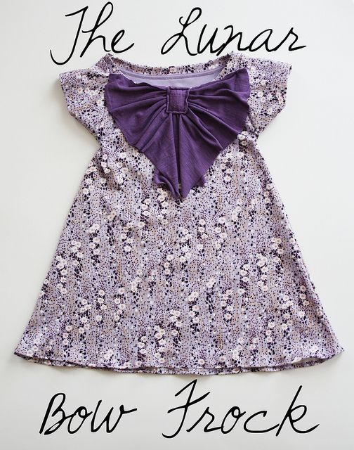 The Lunar Bow Frock @Allie Betancourt I am going to make this for you sometime! Looks like something you would wear!