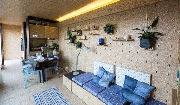 Sustainable Off-Grid Mobile Container Home