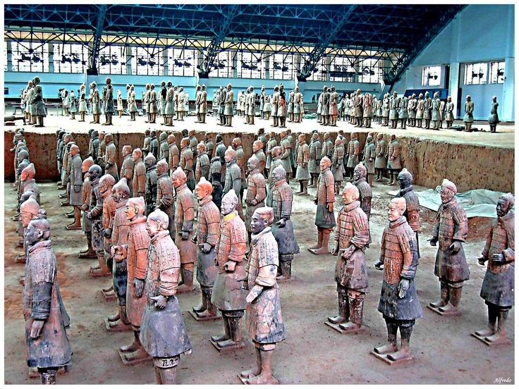 Esercito di terracotta, Xi'an, Cina
