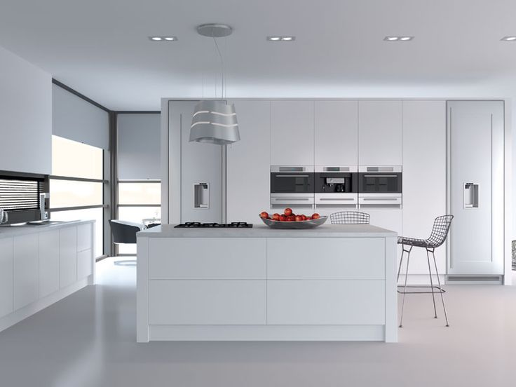Venice Kitchen in Porcelain White - please click to enlarge