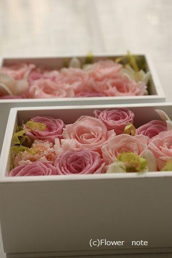 『結婚のお祝いに・・・』 http://ameblo.jp/flower-note/entry-10892823216.html