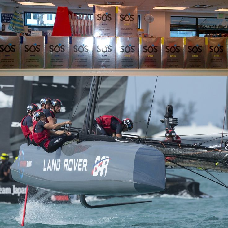 Ben Ainslie Racing going through its paces in Bermuda