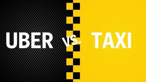 Llego la competencia directa de los taxistas con mejor comodidad
