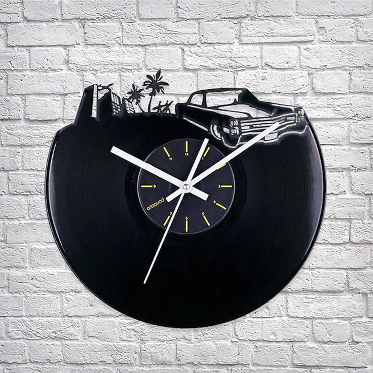Clocks Collection Inspired by Old Vinyls Records – Fubiz Media
