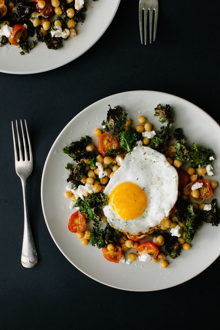Kale and Chickpea Salad | Low carb beans meals | Pinterest | Chickpea ...