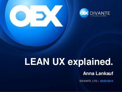 LEAN UX explained #leanux #ecommerce