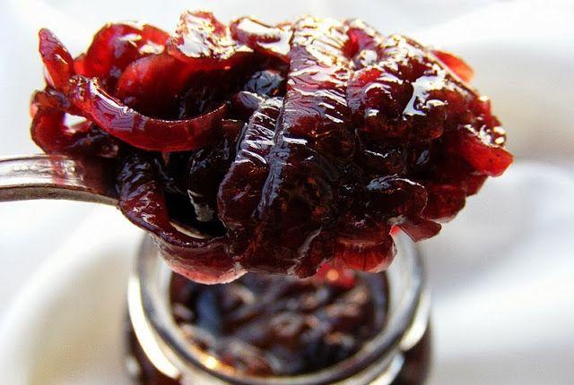 szeretetrehangoltan: Vaníliás balzsamecetes lilahagymalekvár