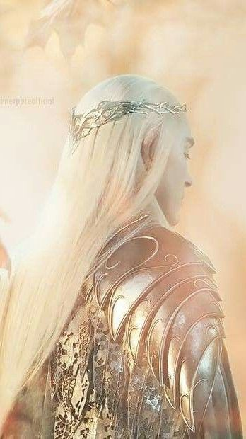 Thranduil - Sindarin king of the Woodland Realm