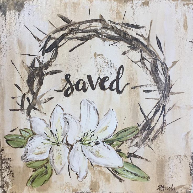 By His wounds, we are HEALED! Happy Easter everyone! #saved #grace #crownofthorn…