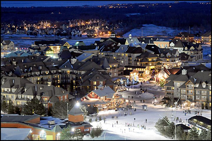 blue mountain - i know i've already pinned this but i so want to go to the blue mountain village while it's christmasy!