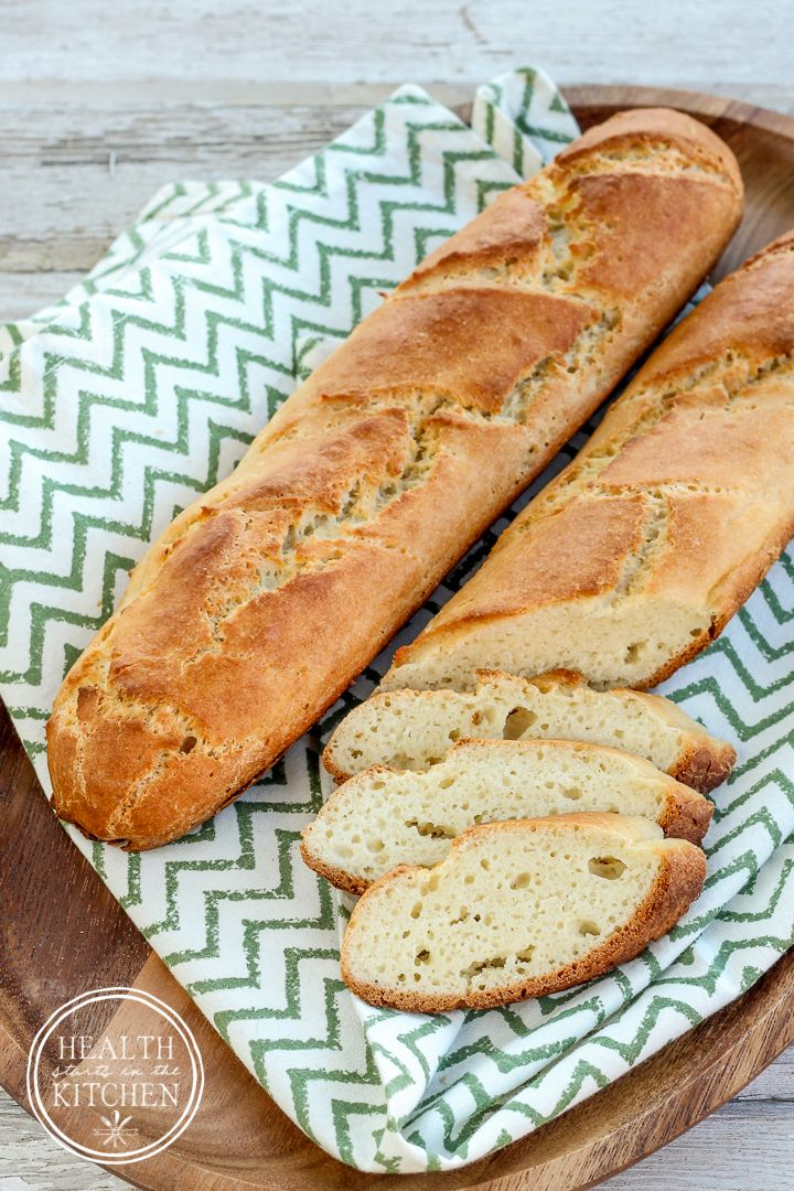 Grain-Free French Bread {Paleo, Gluten-Free & Vegetarian}