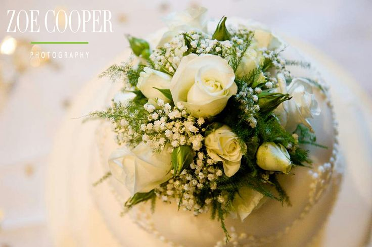 Stunning floral cake topper from a wedding I photographed.