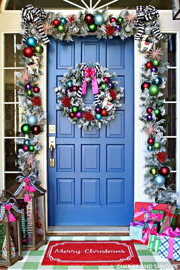 DECKING THE HALLS- OR PORCH!- WITH AT HOME STORES Cool and Random