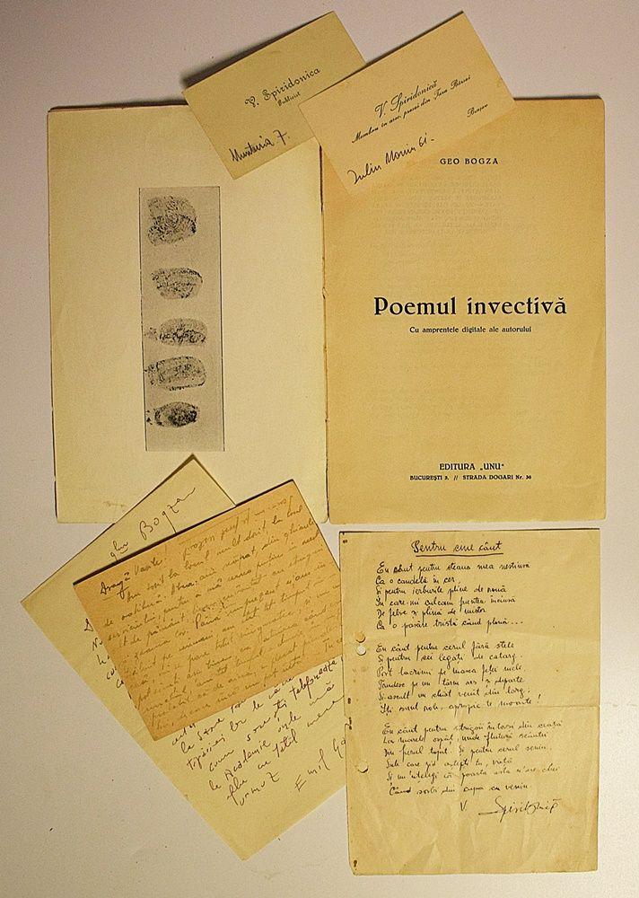 Geo Bogza - Poemul invectivă