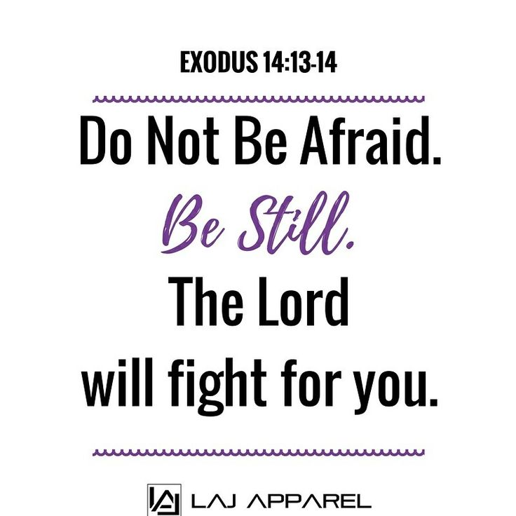 """Moses answered the people, """"Do not be afraid.Stand firm and you will seethe deliverance theLordwill bring you today. The Egyptians you see today you will never seeagain.TheLordwill fightfor you; you need only to be still."""" Exodus 14:13-14 NIV God may…subject us to many trials and troubles. Nevertheless, if He says, """"I will deliver thee,"""" you can be sure that He will keep His word. When you receive God's """"I will,"""" you may always cash it by faith."""