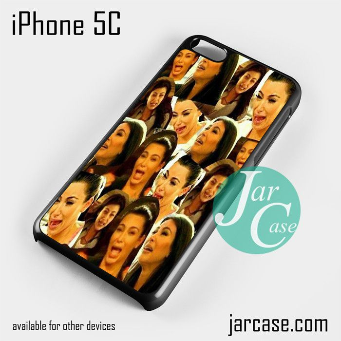 Kim kadarshian collage Phone case for iPhone 5C and other iPhone devices