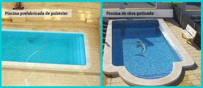 Las 25 mejores ideas sobre piscinas prefabricadas en for Modelos de piscinas de obra
