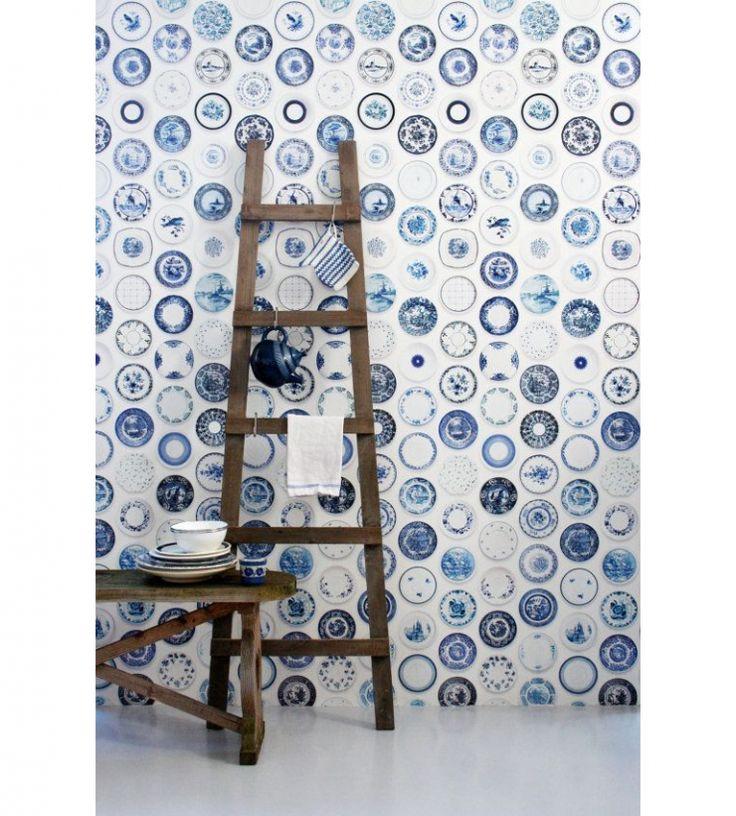 13x Delfts Blauw in huis