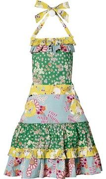 Eclectic apron
