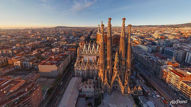 Sagrada Familia. Barcelona, Spania. Catolicism