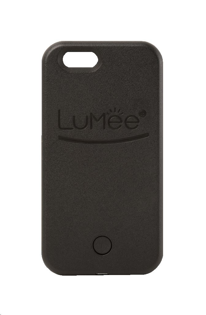 iPhone 6 LuMee case with professional quality lighting. LED lighting on both sides of the Lumee case gives you a soft and beautiful light for every occasion.