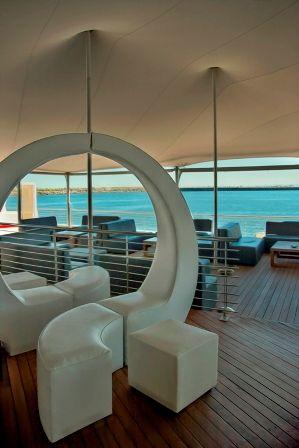 Heineken Deck at Shimmy Beach Club overlooking the ocean. Sublime!  @ShimmyBeach