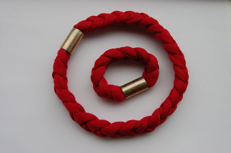 Cotton and metal bracelets and necklaces - www.scicche.it