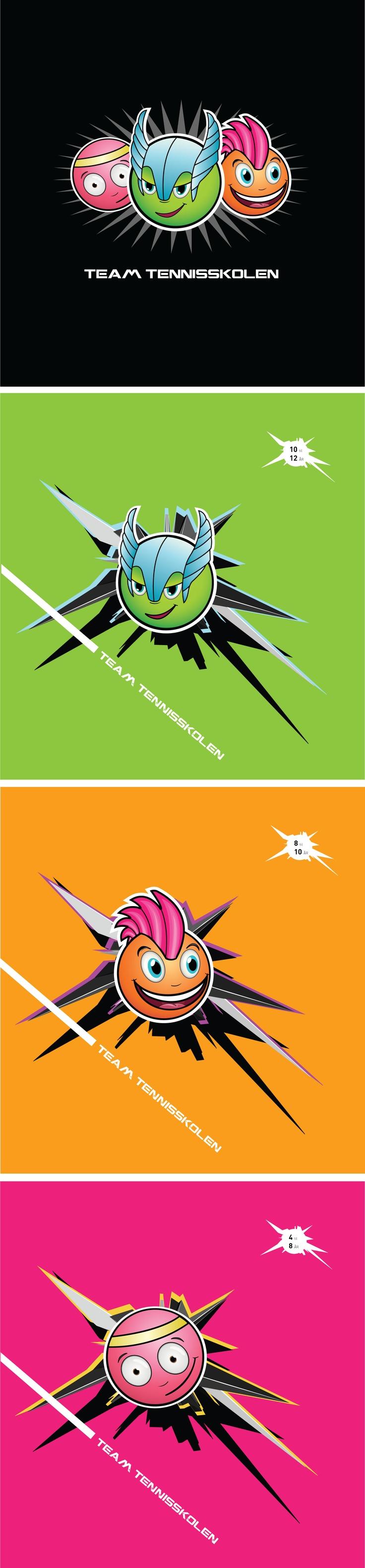 Logo - Tennisskolen ved Norges Tennis Forbund