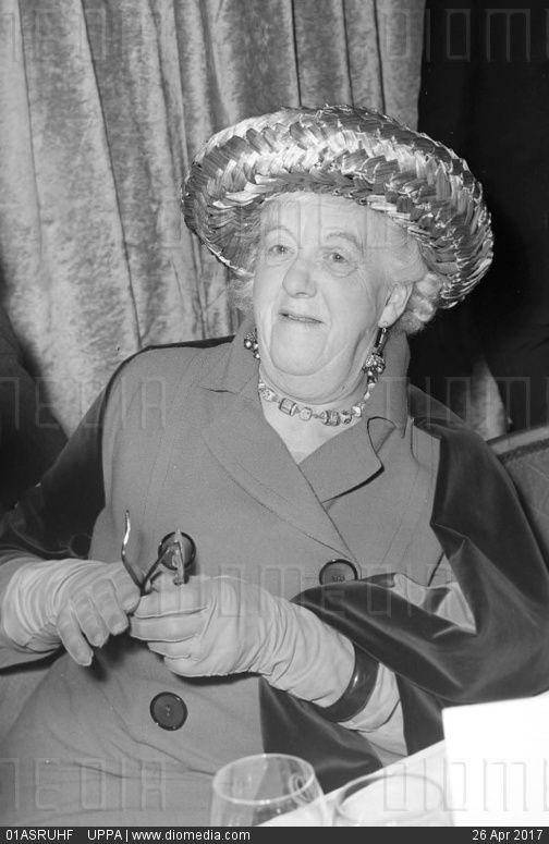DAME MARGARET RUTHERFORD - stock photo