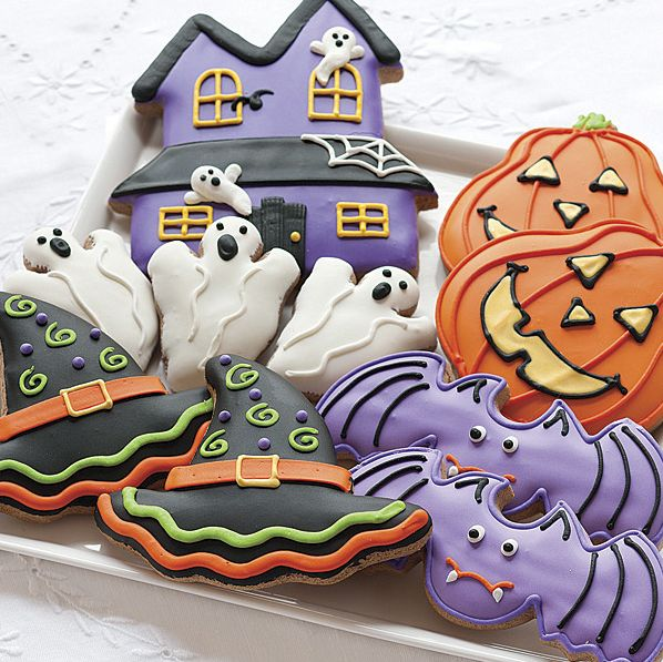 halloween sugar cookies whoever made these knew what they were doing beautiful
