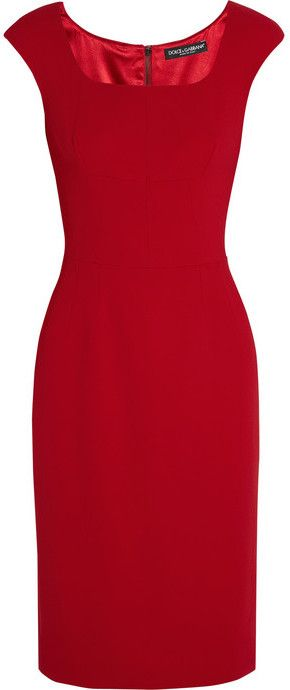Dolce & Gabbana Stretch-cady dress