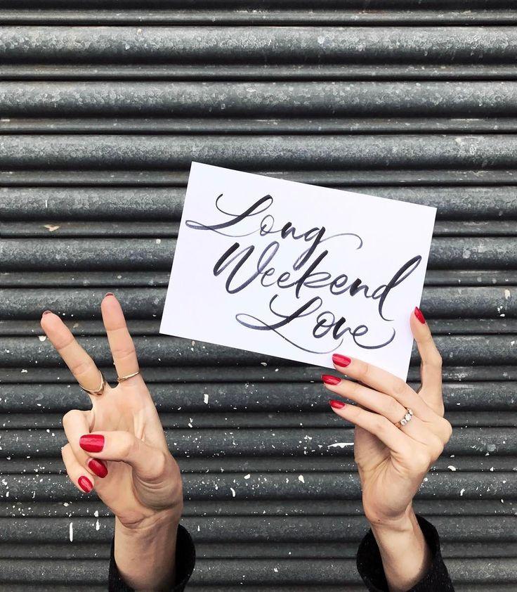 Long Weekend LOVE