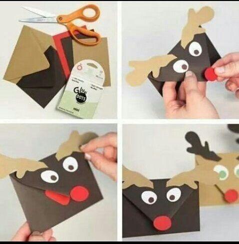 Hirsch-Geschenkkarte
