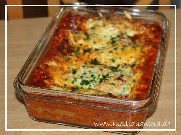 [Rezept] Thunfisch Lasagne