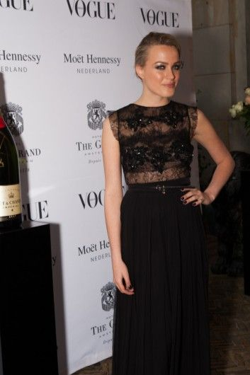Tess Milne al Vogue Queen's Ball #dress