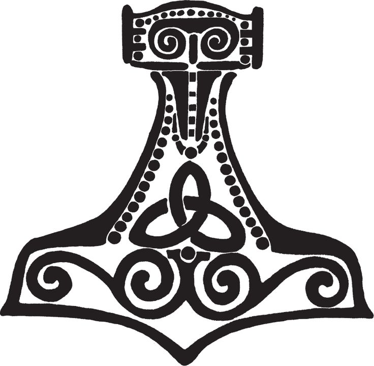 23 Best Thors Hammerrosemaling Tattoo Images On Pinterest
