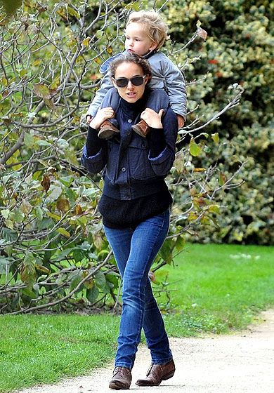 Piggyback Rides | Celebrity Family Pictures Month of May ...
