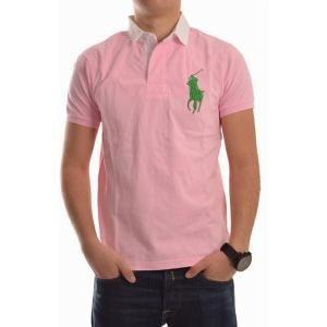Lichte roze polo met witte kraag. Op www.shopwiki.nl #zomer