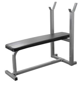 Picture of Weight Training Bench. Heavy Duty Flat Bench.