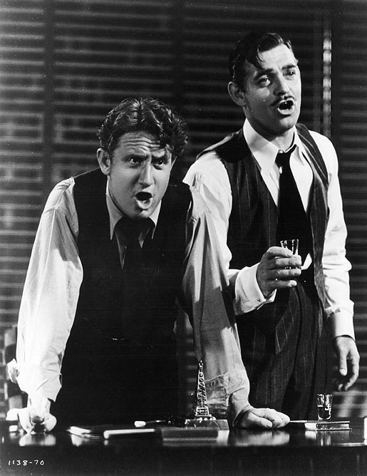 "Spencer Tracy and Clark Gable ""Boom Town"""