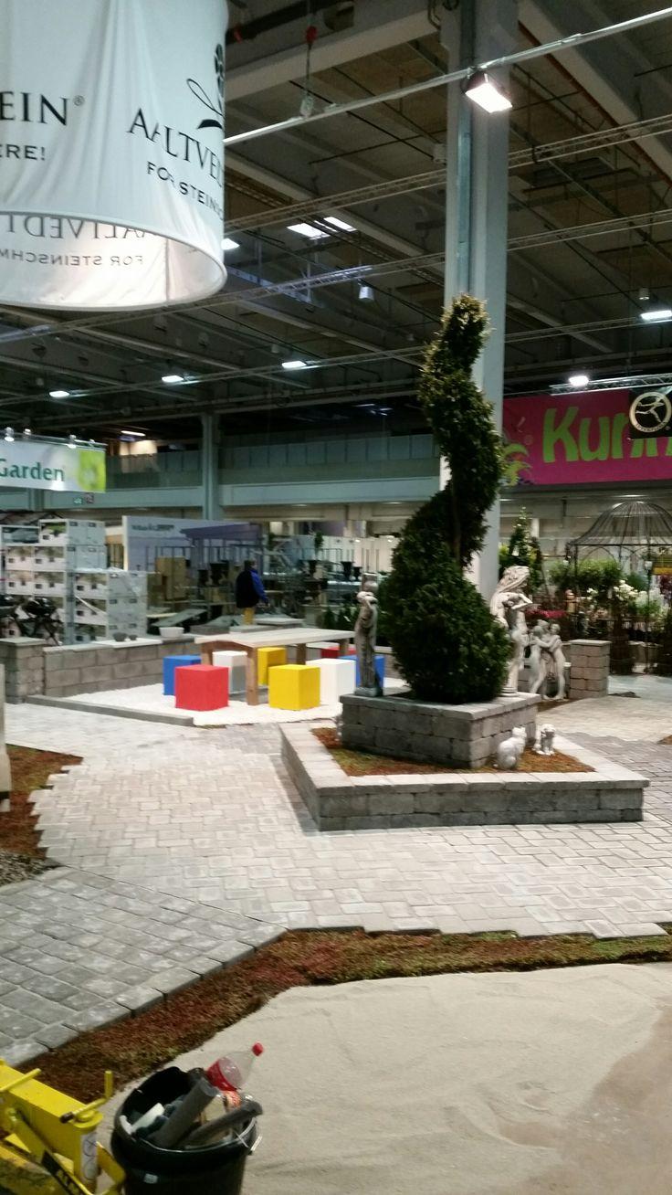 Aaltvedt på plass i Lillestrøm for en fantastisk helg med masse inspirasjon til hagen på Hagemessen 2015!