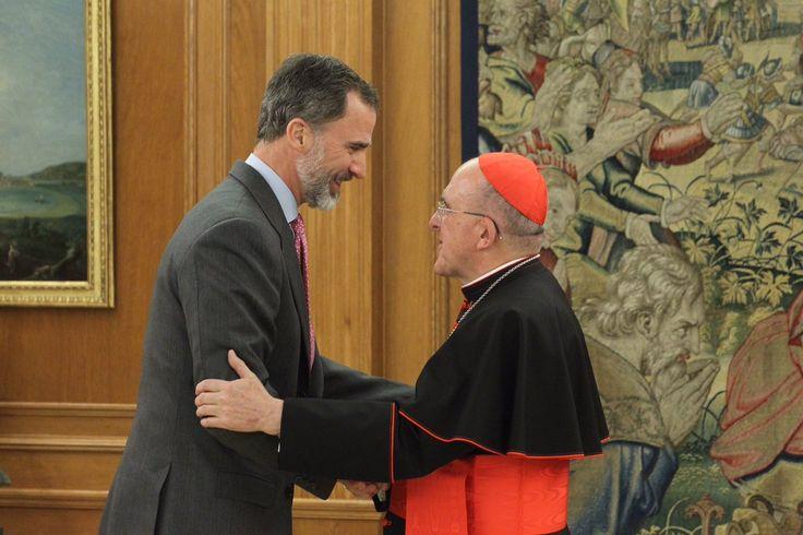Foro Hispanico de Opiniones sobre la Realeza: Audiencia del Rey al Cardenal Arzobispo de Madrid, Monseñor Carlos Osoro Sierra