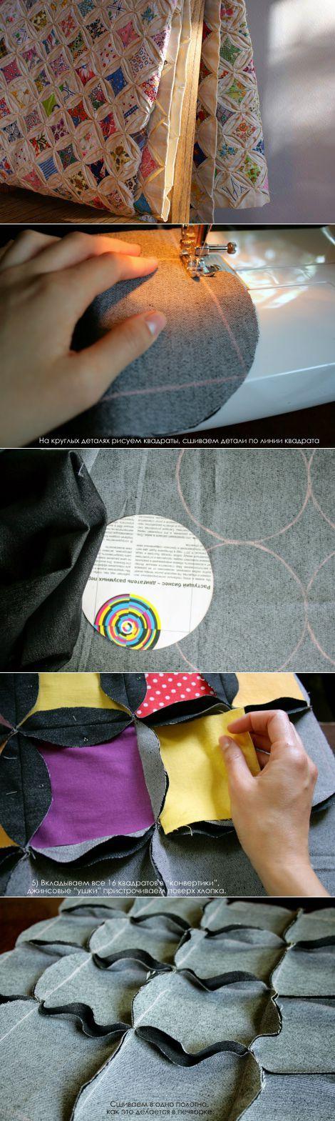 Шьем новую наволочку из старых джинсов - Ярмарка Мастеров - ручная работа, handmade