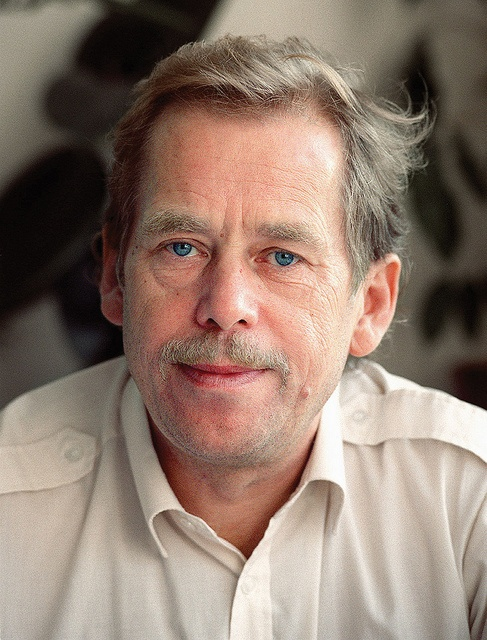 Vaclav Havel. Intellectual, stagehand, actor, playwright, dissident, political prisoner, anti-communist, President of Czechoslovakia.