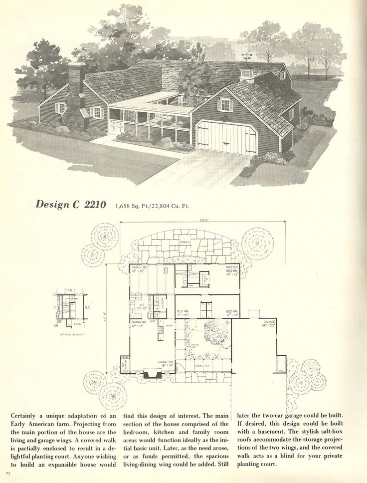 1000 images about ranch house on pinterest downey for 1960 ranch house plans