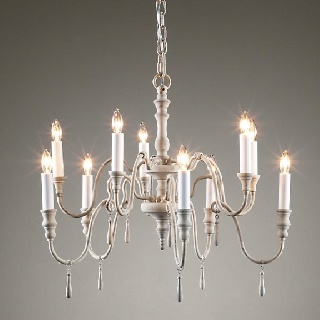 lutece chandelier from restoration hardware dining room the white