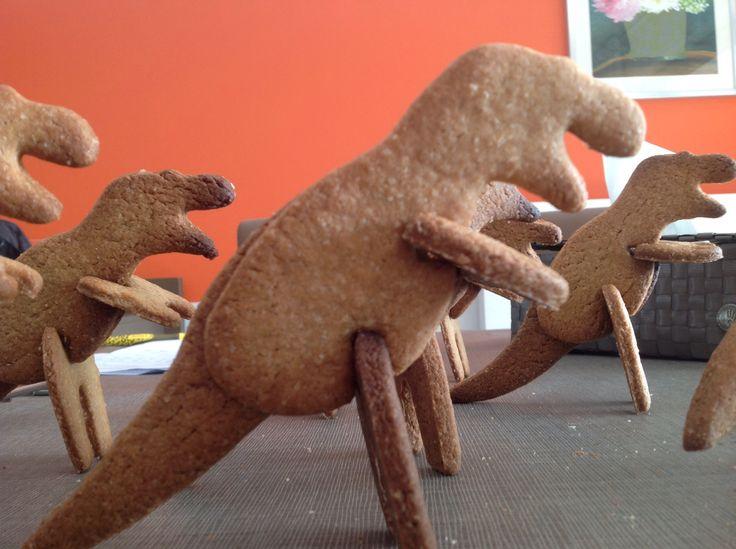Dinosaurus, koekjes